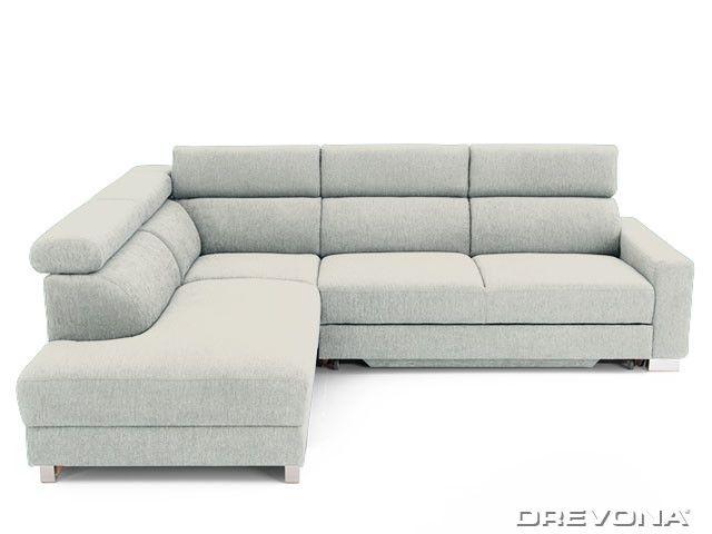 Rohová sedačka ľavá krémová AVA TEMPO Ocean 181