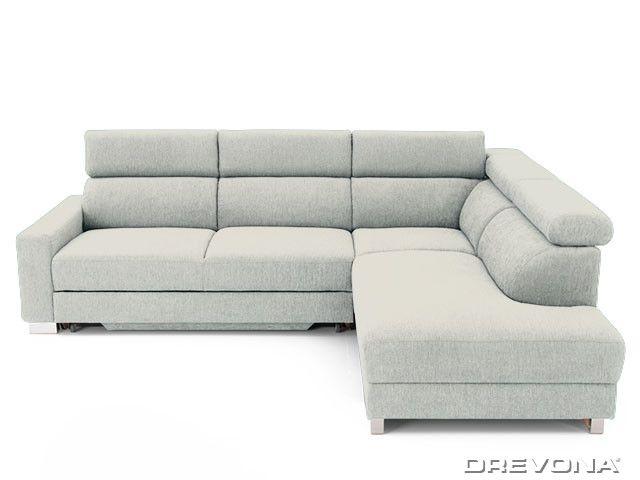 Rohová sedačka pravá krémová AVA TEMPO Ocean 181
