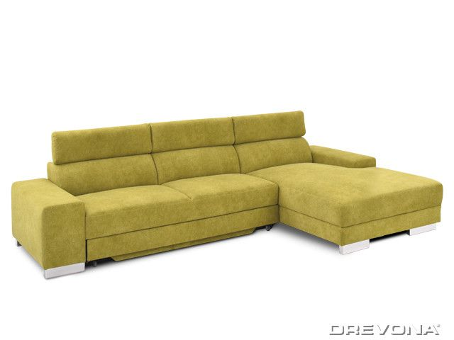 Rohová sedačka pravá zelená VICTORY Dallas 120 3ALF+LAR