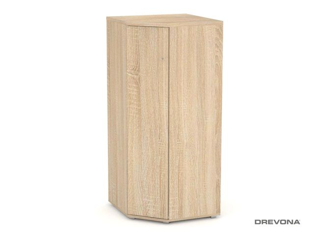 Rohová skrinka REA AMY 34 (135) dub bardolíno