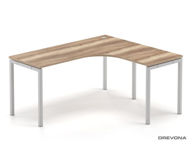 Rohový stôl dub canyon RP-SRK-1600