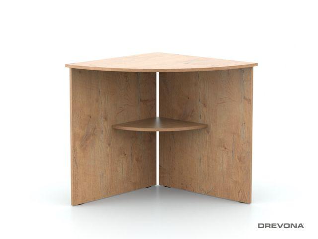 Rohový stôl dub lancelot REA OFFICE 66