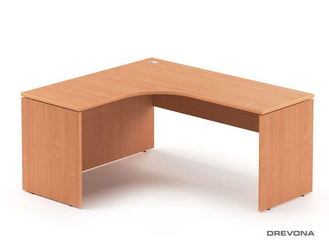 Rohový stôl ľavý buk RP-SRD-1600