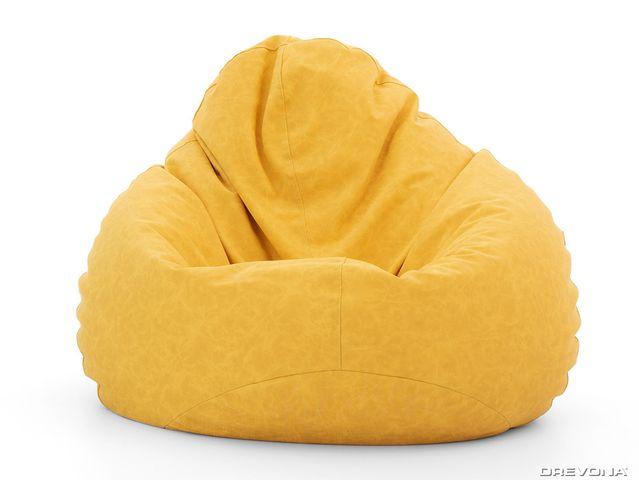 Sedací vak žltý nepremokavý AQUAVAK A110