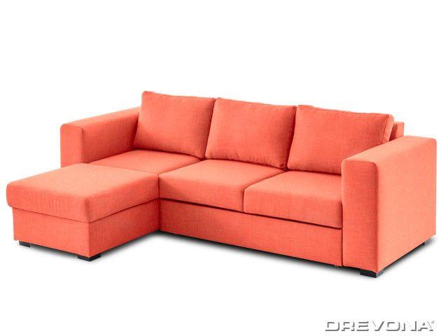 Sedacia súprava oranžová ľavá AVA LUCY Soro 51