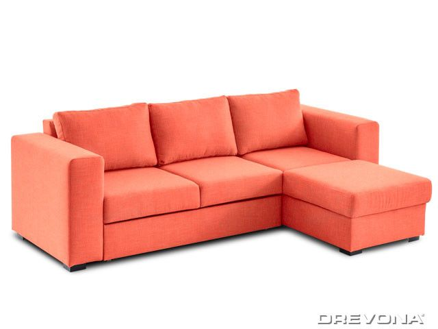 Sedacia súprava oranžová pravá AVA LUCY Soro 51