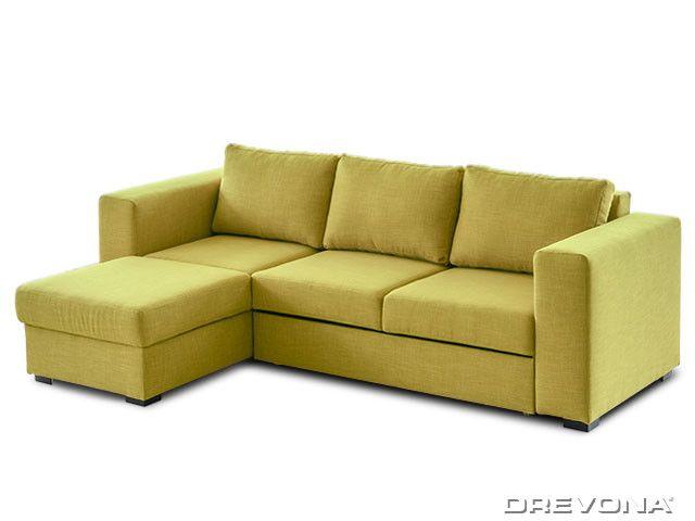 Sedacia súprava zeleno-žltá ľavá AVA LUCY Soro 40