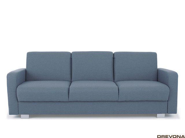 Sedačka rozkladacia modro sivá TAMMY EP80
