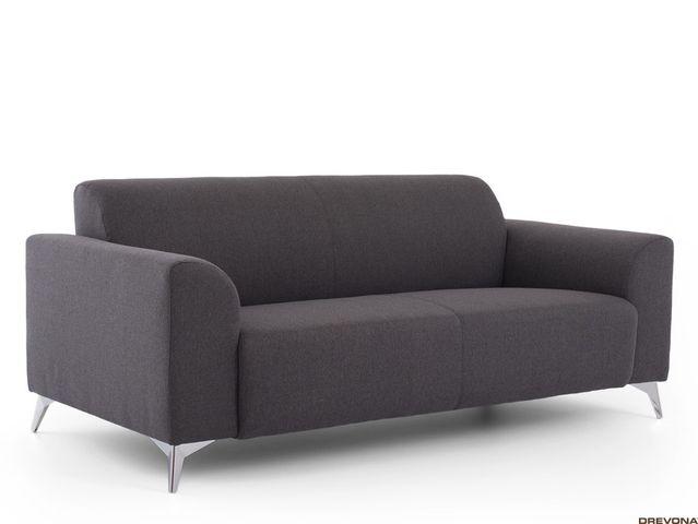 3-sed talianský design šedý AVA SIMPLY Inari 96
