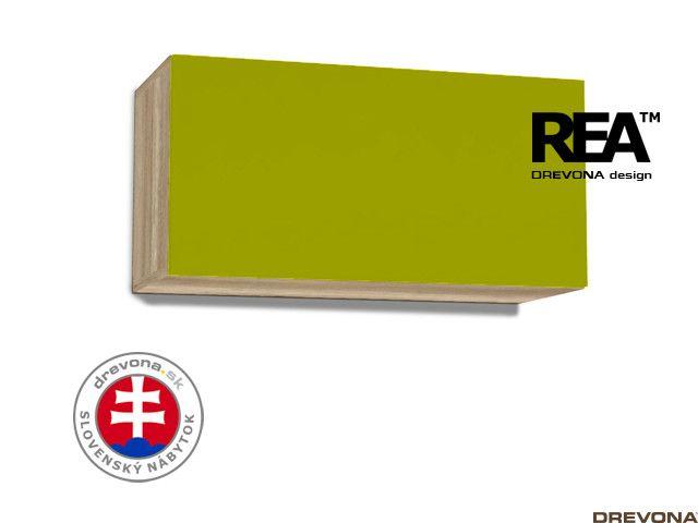 Skrinka dub canyon/zelená REA REBECCA 7
