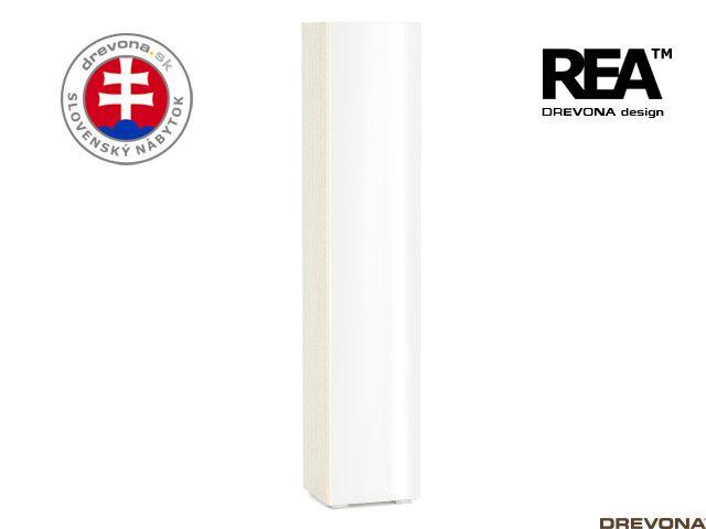Skrinka navarra/biely lacobel REBECCA 5