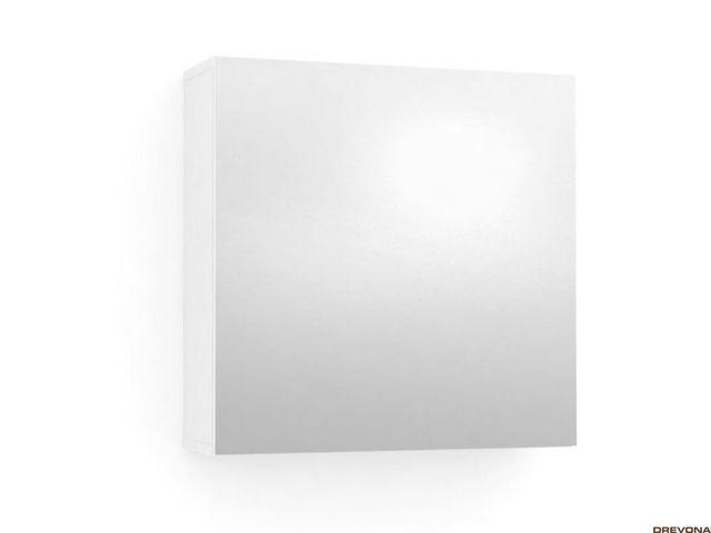 Skrinka so zrkadlom biela REA REST 6