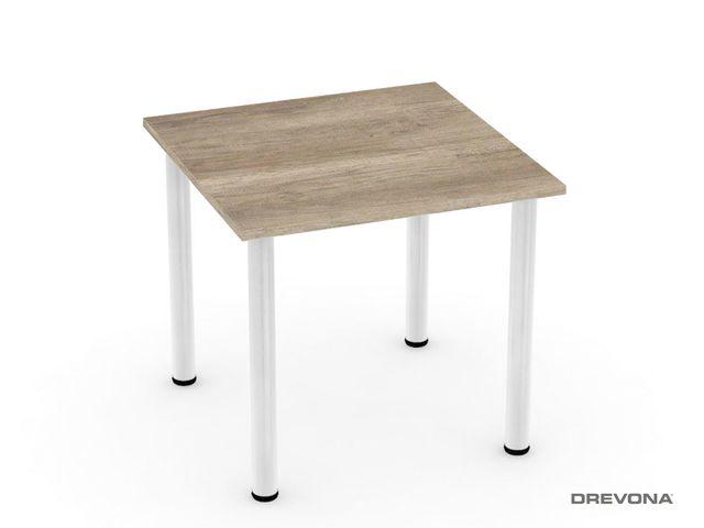 Stôl 80 x 80 dub canyon REA FLAT 1