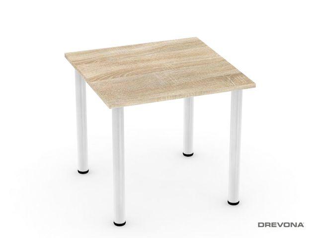 Stôl 80 x 80 dub bardolíno REA FLAT 1