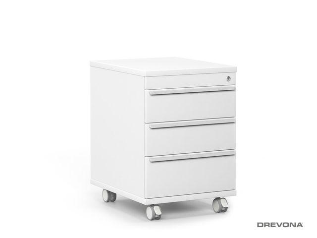 Šuflíkový kontajner biely REA PLAY KN 3