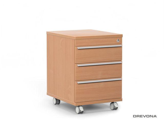 Šuflíkový kontajner buk REA PLAY KN 3