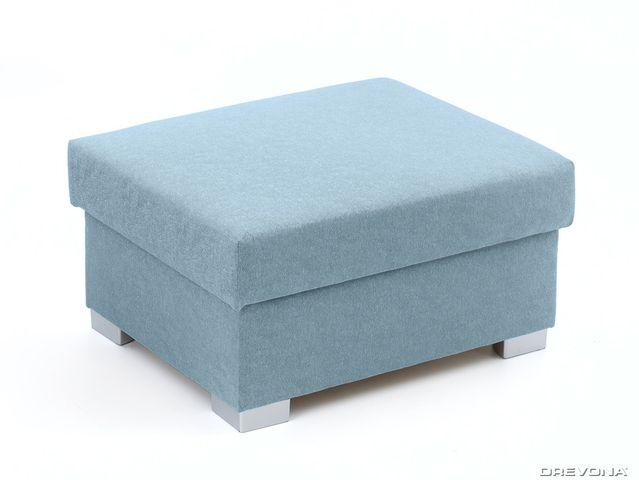 Taburet modrý STACY Gusto 72
