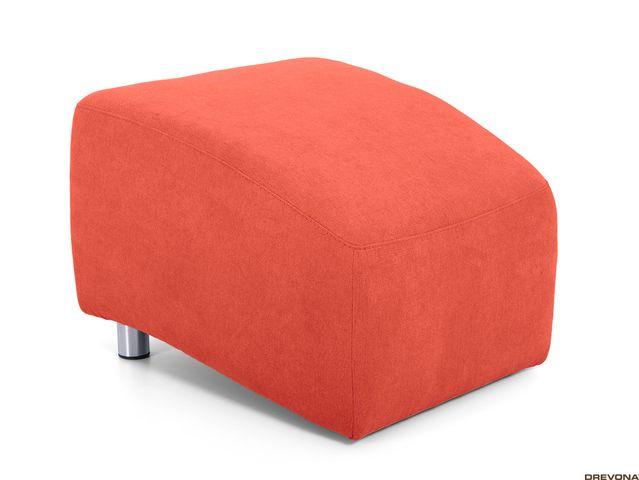 Taburet oranžový AVA PIXY 2 (Soro 51)