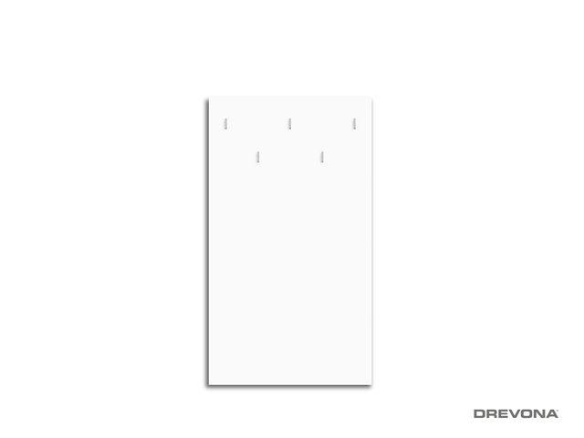 Vešiakový panel biely RP-CH-13-B