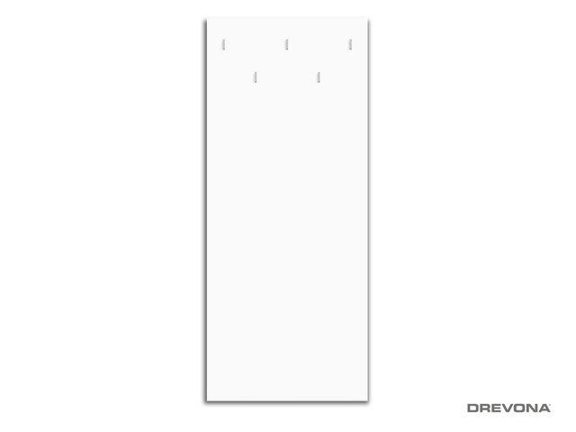 Vešiakový panel biely RP-CH-14