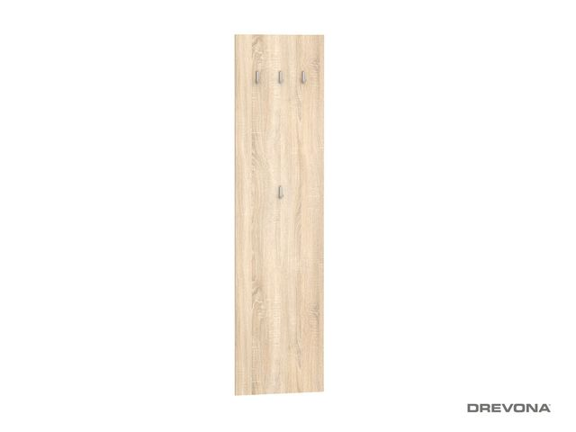 Vešiakový panel š. 50 cm dub bardolíno (sonoma) BASIC VP 50