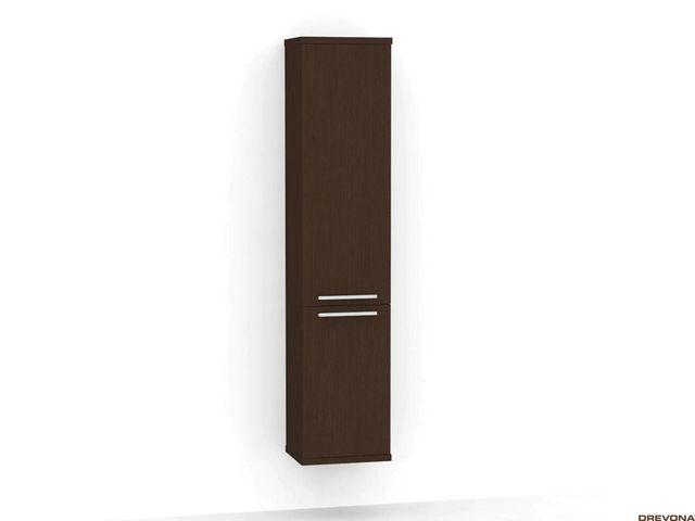 Vysoká skrinka do kúpeľne wenge REA REST 5