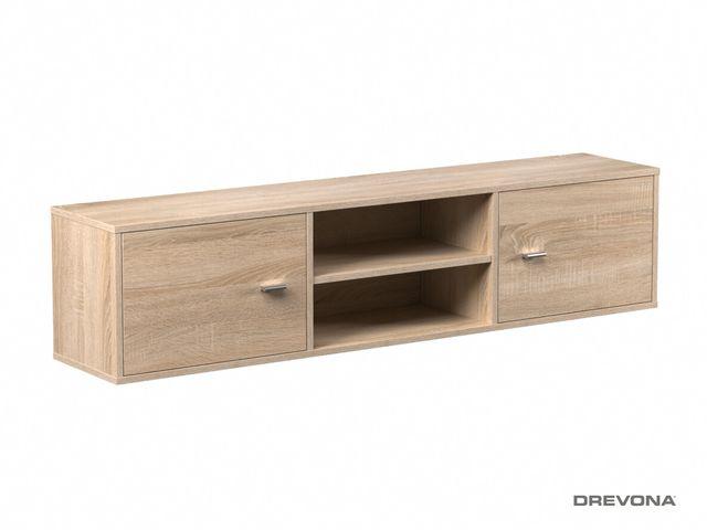 Závesná skrinka dub bar. DENISA UP 002