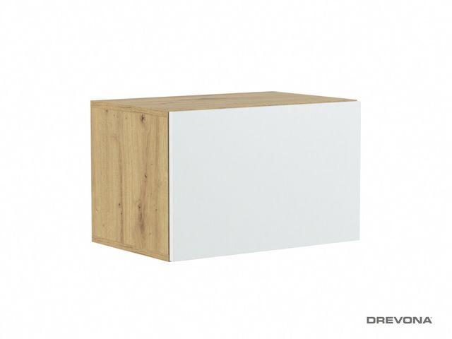 Závesná skrinka na stenu TETRIS 02, 600, Dub Artisan