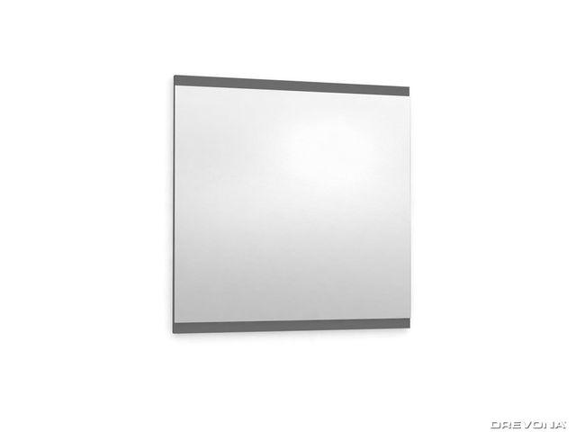 Zrkadlo do kúpeľne 60x60 šedé grafit REA REST 7