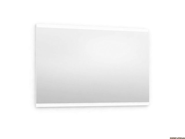 Zrkadlo do kúpeľne 90x60 biela REA REST 8