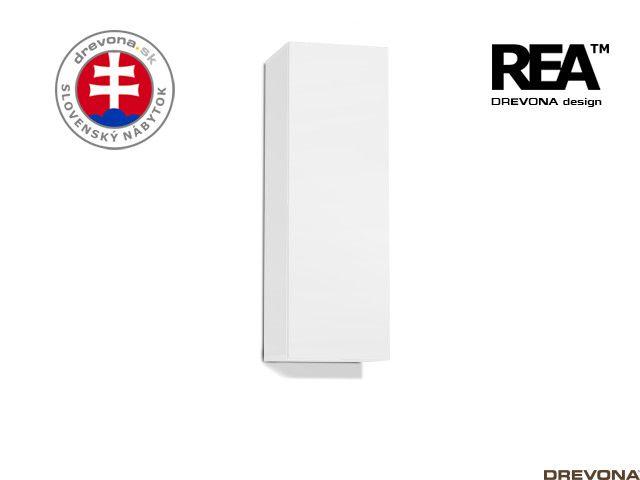 Zvislá skrinka biela REA REBECCA 10