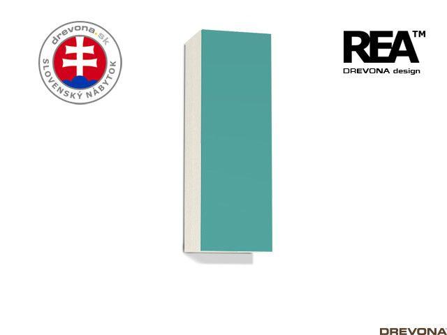 Zvislá skrinka navarra/tyrkys REA REBECCA 10