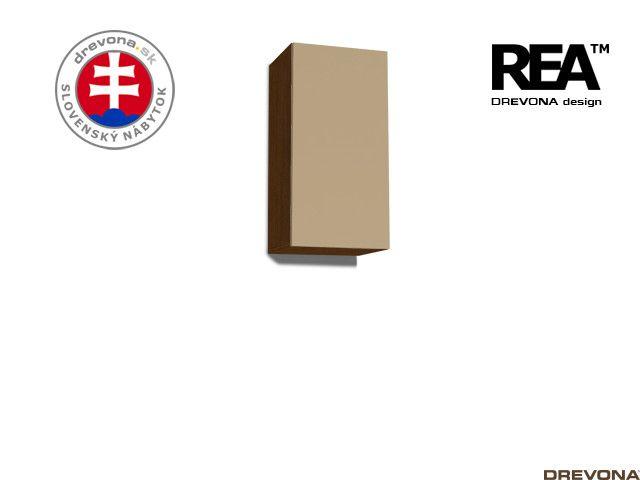 Zvislá skrinka wenge/cappuccino REBECCA 9