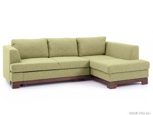 Rohová sedačka pravá zelená GLADYS Gusto 33