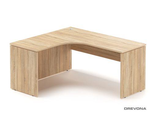 Rohový stôl ľavý dub bardolíno RP-SRD-1600