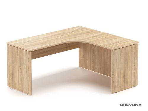 Rohový stôl pravý dub bardolíno RP-SRD-1600