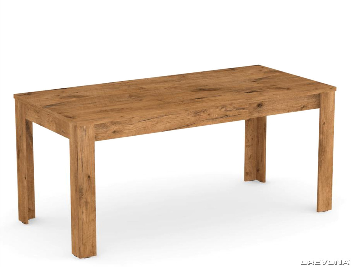 fdd4d963a41ed Rozkladací jedálenský stôl dub lancelot REA EXTE | DREVONA