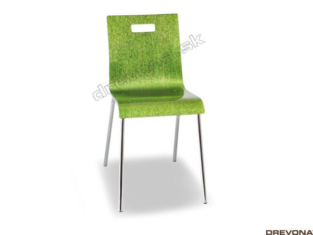 1d8458ac17b5 Jedálenská stolička zelená RUUT I